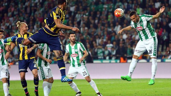Fenerbahçe, Torku Konyaspor'a 2-1 mağlup oldu. - Sputnik Türkiye