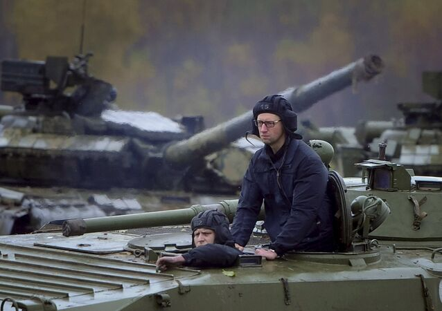 Eski Ukrayna Başbakanı Arseniy Yatsenyuk