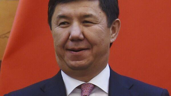 Kırgızistan Başbakanı Temir Sariyev - Sputnik Türkiye