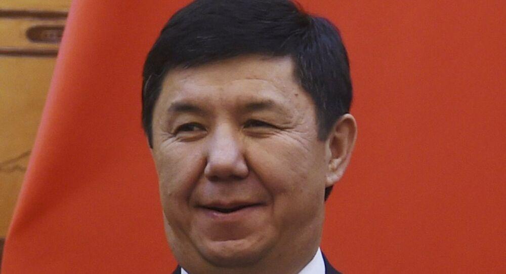 Kırgızistan Başbakanı Temir Sariyev