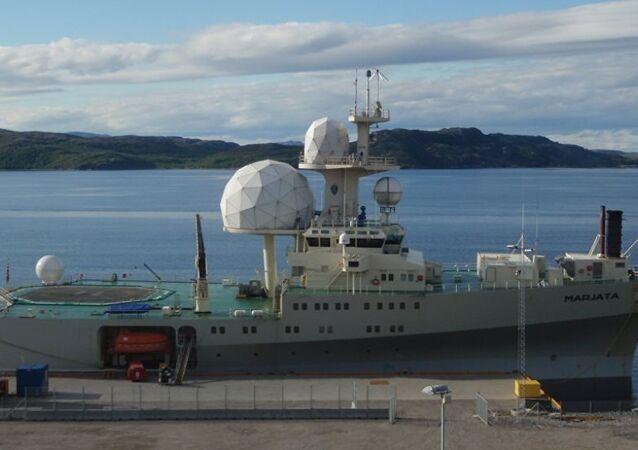 Norveç FS Marjata IV istihbarat gemisi