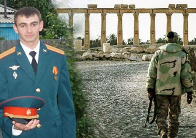 Suriye'de Palmira antik kenti yakınlarında hayatını kaybeden Aleksandr Prohorenko
