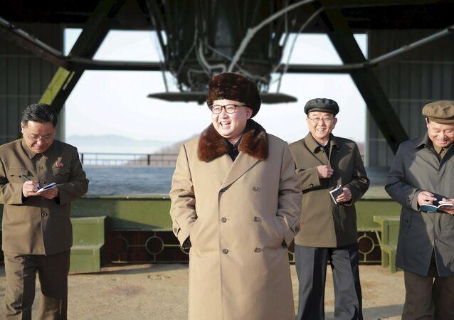 Kuzey Kore lideri Kim Jong-un