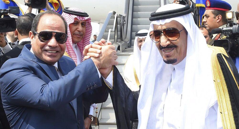 Suudi Arabistan Kralı Selman bin Abdülaziz el Suud - Mısır Cumhurbaşkanı Abdulfettah el Sisi