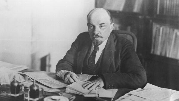 Wladimir Lenin im Kreml, 1918 - Sputnik Türkiye