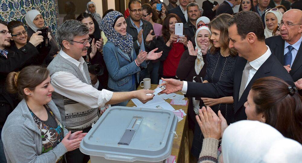 Suriye'de parlamento seçimleri / Beşar Esad - Esma Esad