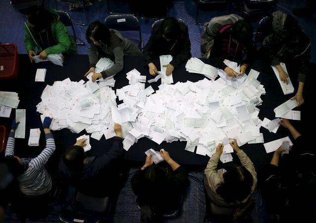Güney Kore'de seçim