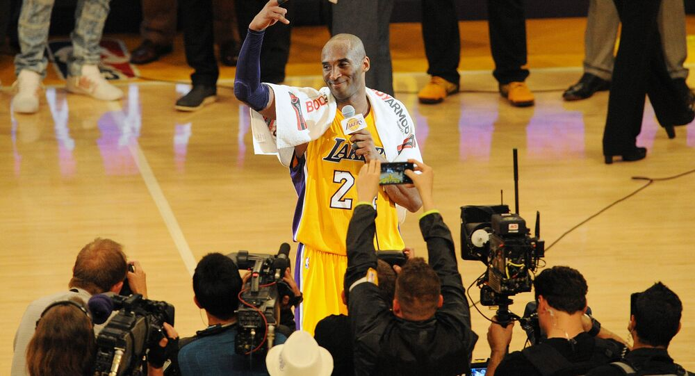 NBA'in efsane ismi Kobe Bryant