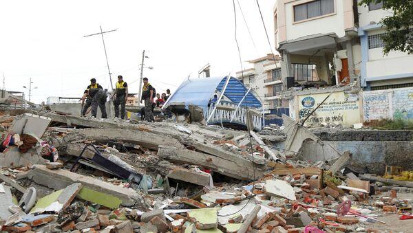 Ekvador-deprem - Sputnik Türkiye