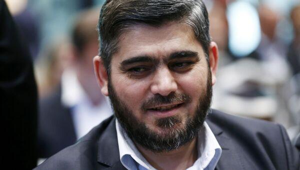 Ceyş'ul İslam (İslam Ordusu) lideri Muhammed Alluş - Sputnik Türkiye
