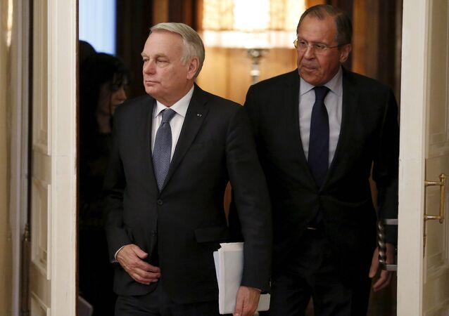Rusya Dışişleri Bakanı Sergey Lavrov ve Fransa Dışişleri Bakanı Jean-Marc Ayrault