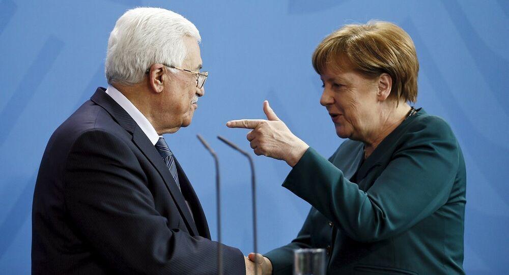 Merkel - Abbas