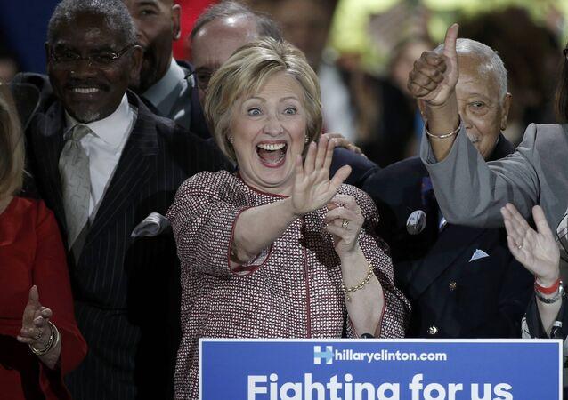 Eski ABD Dışişleri Bakanı Hillary Clinton