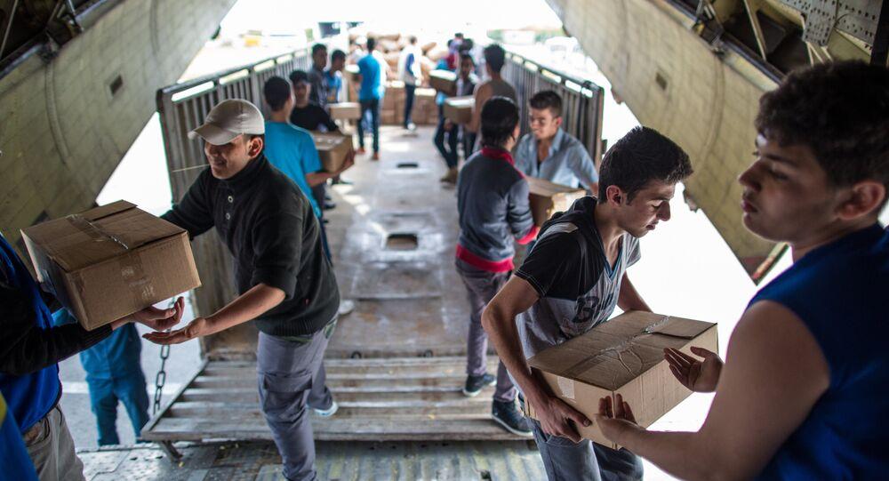 Rusya -  Lazkiye'de insani yardım