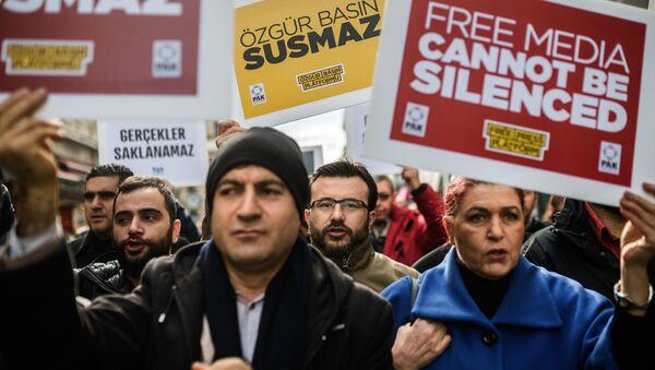 Çalışan Gazeteciler Günü - Sputnik Türkiye