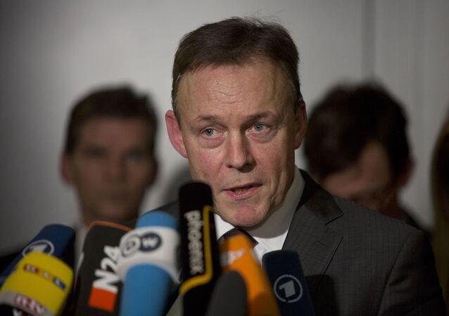 Sosyal Demokrat Parti'nin (SPD) Federal Meclis Grup Başkan Vekili Thomas Oppermann