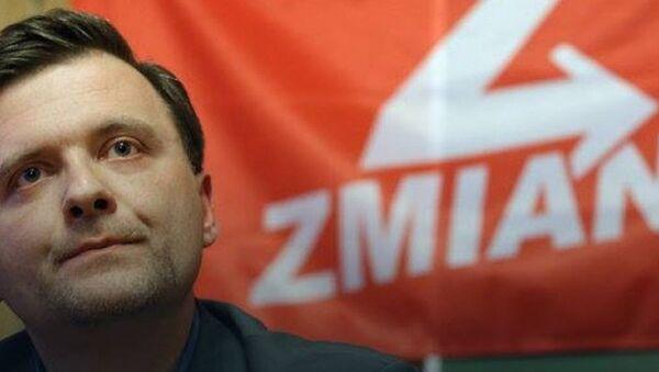 Zmiana Partisi'nin lideri Mateusz Piskorski - Sputnik Türkiye