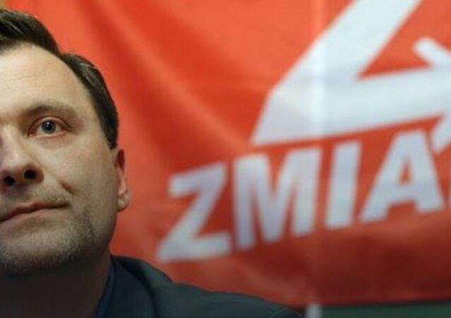 Zmiana Partisi'nin lideri Mateusz Piskorski