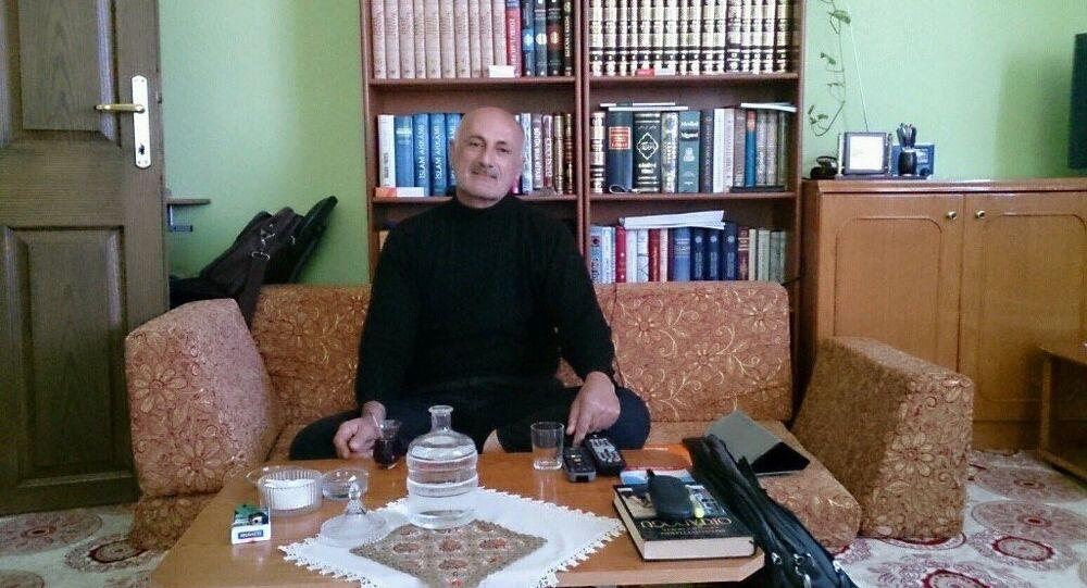 Karaman'daki cinsel istismar davasında tutuklanan Muharrem Büyüktürk.