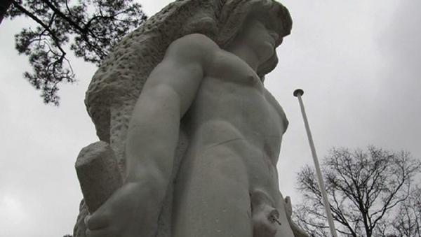 Fransa'daki Herkül heykeli - Sputnik Türkiye