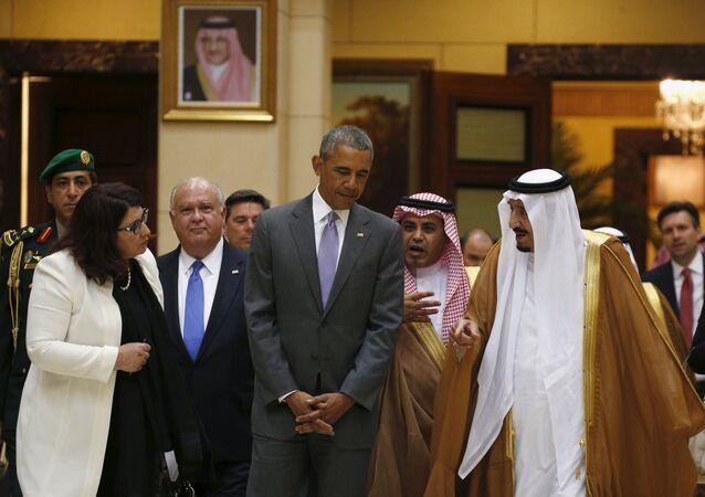 ABD Başkanı Barack Obama - Suudi Kralı Selman