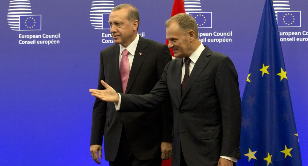 Recep Tayyip Erdoğan - Donald Tusk