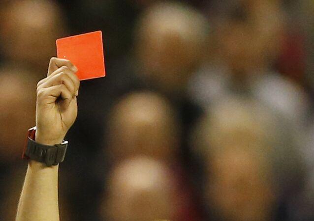 Kırmızı kart/futbol.