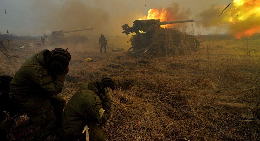 Rusya'nın güneydoğusundaki Primorskiy bölgesinde askeri tatbikat