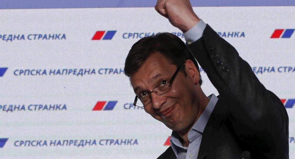 Sırbistan Başbakanı Aleksandr Vuçiç