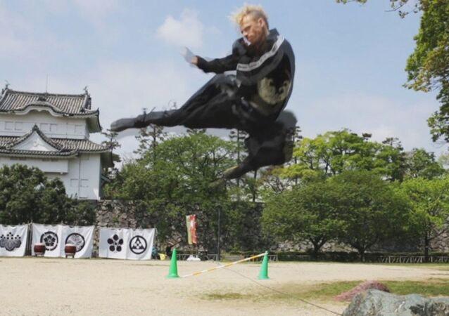 Japonya'nın ilk yabancı ninjası