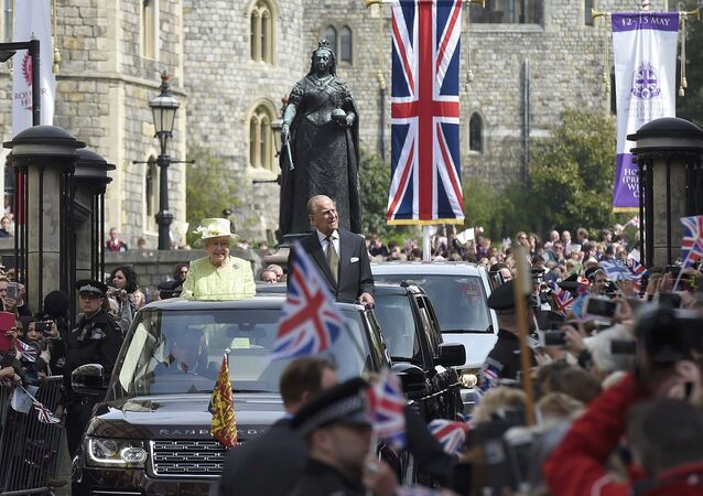 İngiltere Kraliçesi 2. Elizabeth- Prens Philip