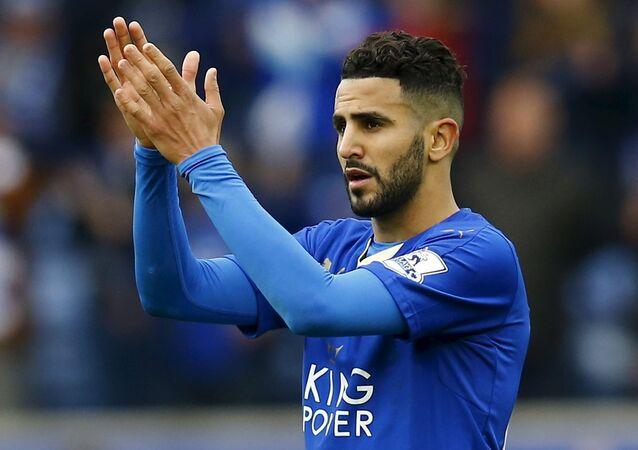 Leicester City'de forma giyen Riyad Mahrez