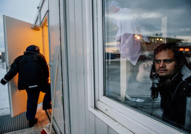 Norveç - sığınmacı kampı