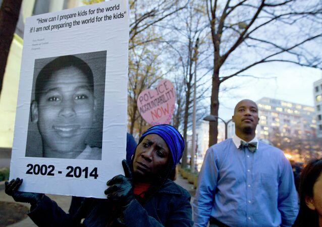Tamir Rice'ın ölümünün ardından ABD'de birçok kentte protestolar düzenlendi.