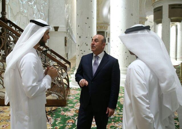 Türkiye Dışişleri Bakanı Mevlüt Çavuşoğlu Abu Dabi'de