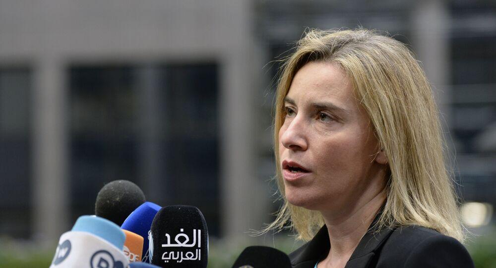 AB Dış İlişkiler Yüksek Temsilcisi Federica Mogherini