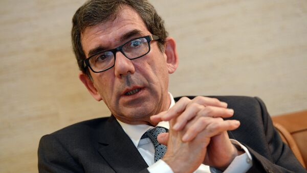 Fransa'nın Rusya Büyükelçisi Jean-Maurice Ripert - Sputnik Türkiye