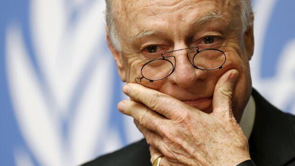 BM'nin Suriye Özel Temsilcisi Staffan de Mistura - Sputnik Türkiye