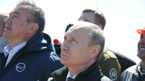 Rusya'nın uzak doğusunda inşa edilen yeni uzay üssü Vostoçnıy'dan bir ilk olarak bu sabah 05:01'de Soyuz-2.1a roketi fırlatıldı. Rusya Devlet Başkanı Vladimir Putin de fırlatma anına şahit oldu. - Sputnik Türkiye