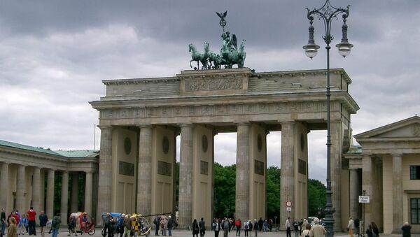 Almanya - Berlin - Brandenburg Kapısı - Sputnik Türkiye