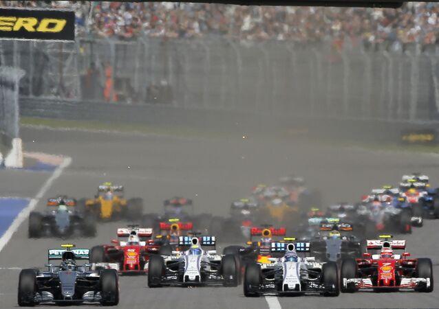 Formula 1 Soçi'deydi