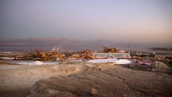 İsrail sanayi - Ölü Deniz - Sputnik Türkiye