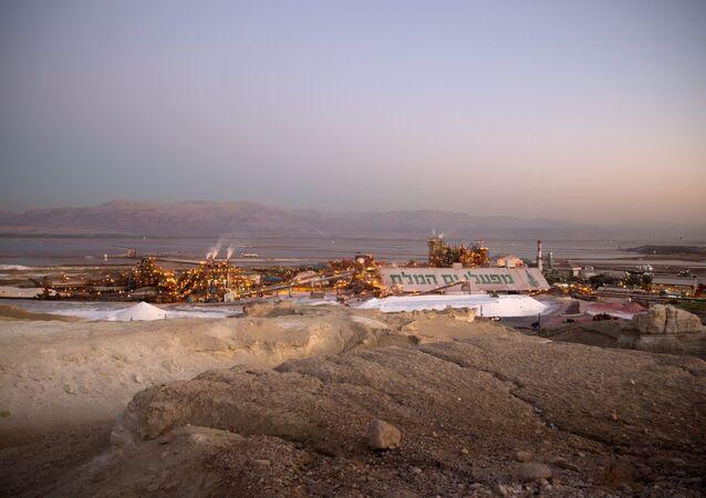 İsrail sanayi - Ölü Deniz