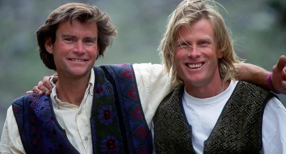 ABD'li dağcı Alex Lowe ve kameraman David Bridges