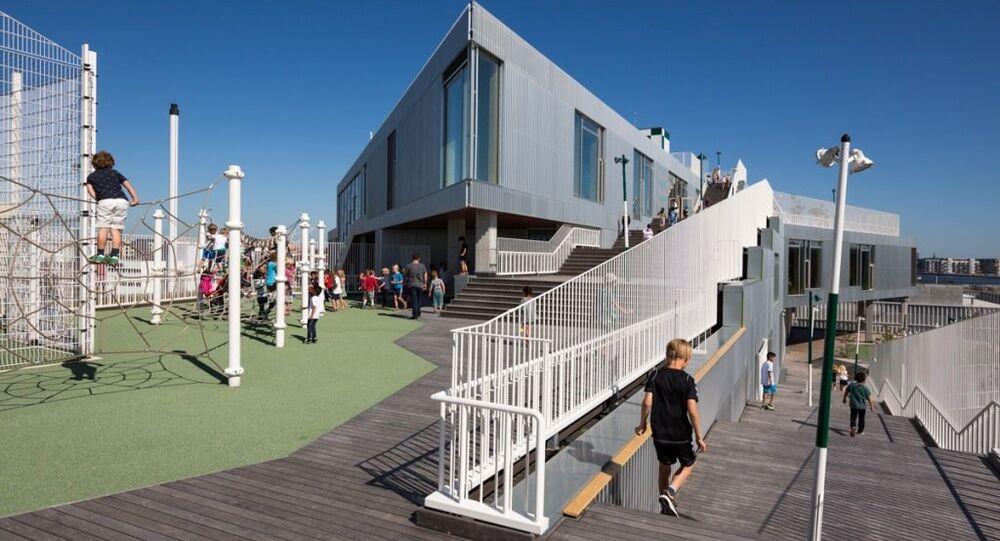 Mimarisi en iyi okul Kopenhag'da