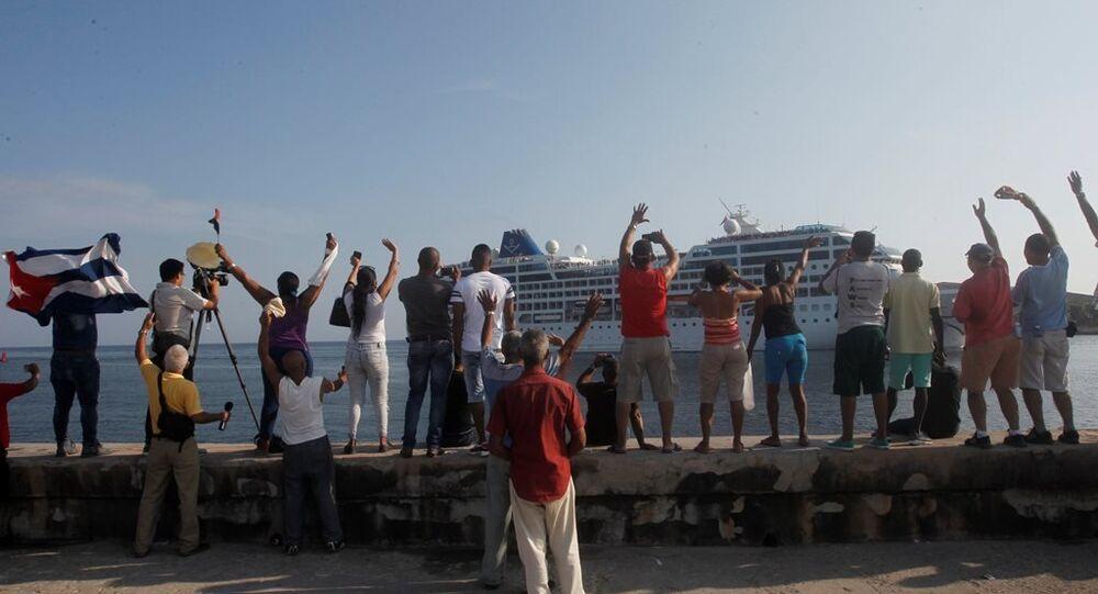 ABD bandıralı yolcu gemisi