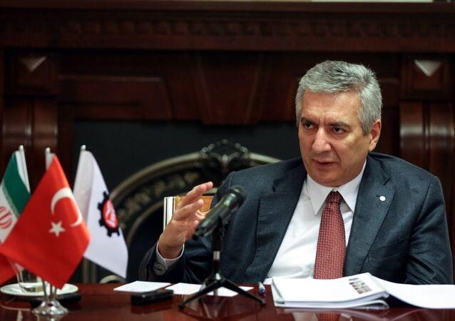 İstanbul Sanayi Odası (İSO) Yönetim Kurulu Başkanı Erdal Bahçıvan
