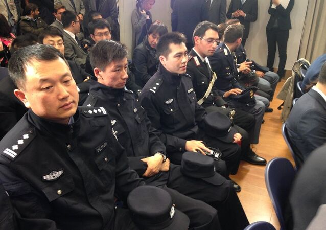 Çin polisi İtalya'da