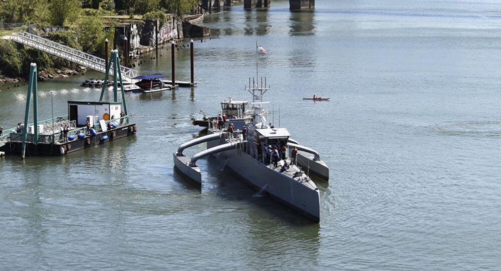 ABD insansız gemi