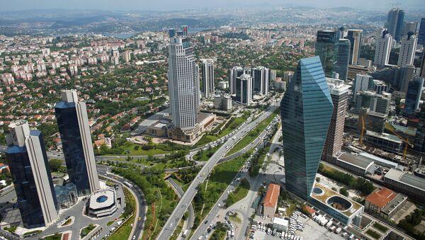 İstanbul - Levent - ticaret - Sputnik Türkiye